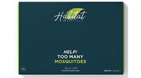 Buzz off! Premium Natural mosquito repellent patch sticker