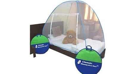 Classic Mosquito Net Foldable Single Bed