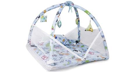 DearJoy Baby Bedding Set with Mosquito Net