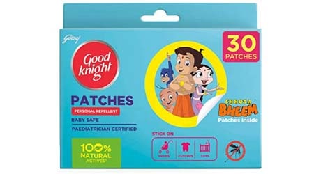 Goodknight 100% Natural Mosquito Repellent Patches