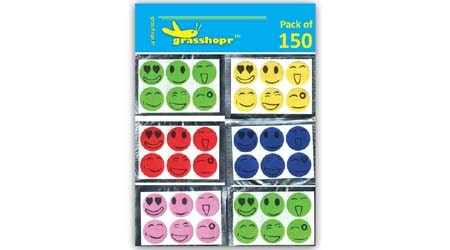 Grasshopr Mosquito Repellent Patch Smiley