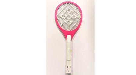 Hunter Brand Mosquito Killer Swatter Zapper Bat Racket Rechargeable