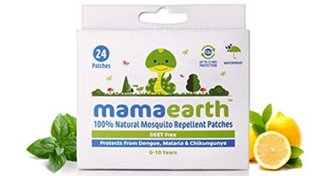 Mamaearth Natural Repellent Mosquito Patches for Babies