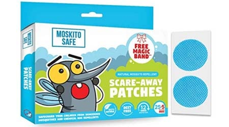 Moskito Safe Natural Mosquito Repellent Patches for Kids