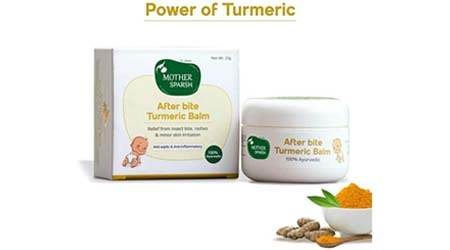 Mother Sparsh After Bite Turmeric Balm for Rashes and Mosquito Bites