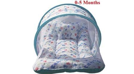 Nagar International Baby Bedding Set with Mosquito Net