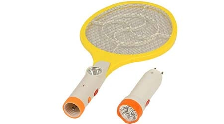 RAREERAM 2 in 1 Rechargeable Mosquito Insect Racket BAT