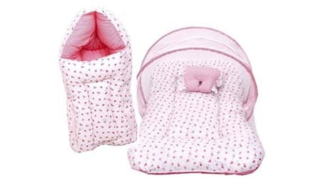 RBC RIYA R Baby Mattress with Mosquito Net