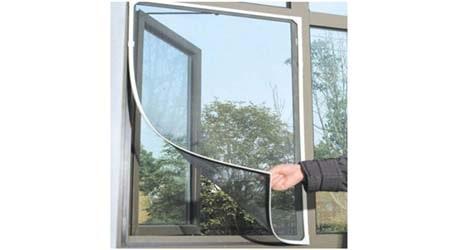 Shahji Creation Fiber Mosquito Net For Steel Framed Windows